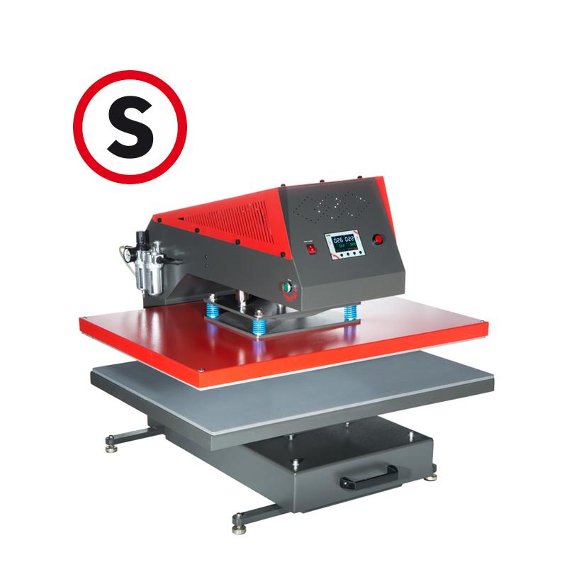 Secabo TP10 pneumatische Transferpresse 80cm x 100cm