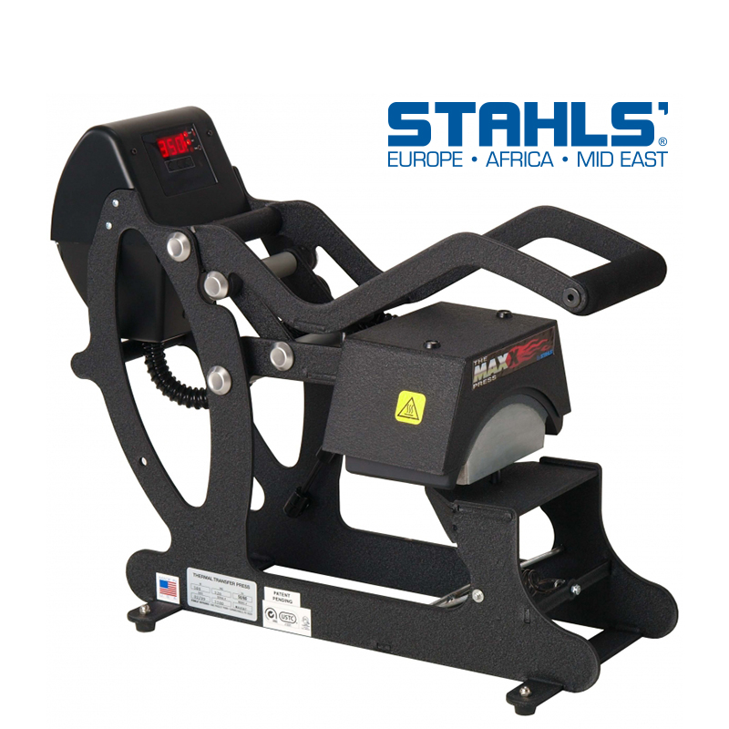 STAHLS® Maxx™ Cap Transferpresse (10cm x 20cm)